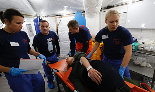 World Health Organisation Emergency Medical Teams